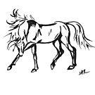 Dancing Horse by RavensLanding