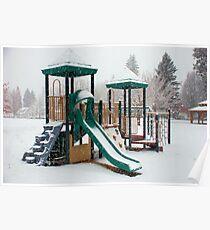 winter playground Poster