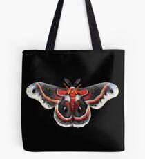 Beautiful Cecropia Moth Illustration Tote Bag