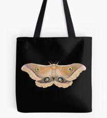 Giant Silk Moth Illustration Tote Bag