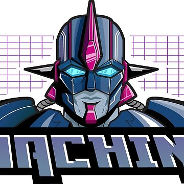 Machine Retro 1980's Cartoon Design - John Max Posey Design by johnmaxposey