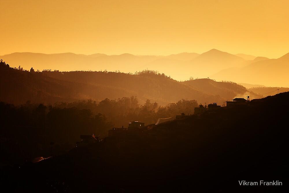 The Nilgiris - Dawn by Vikram Franklin