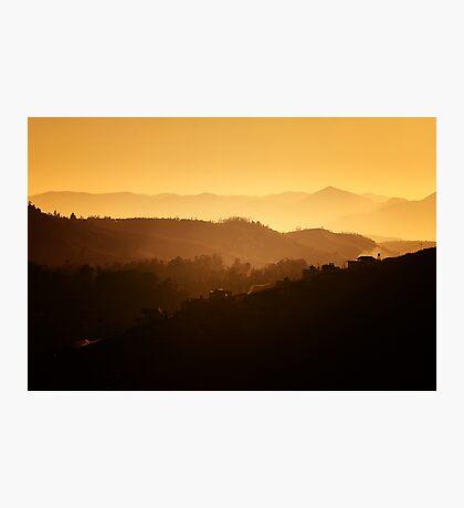 The Nilgiris - Dawn Photographic Print