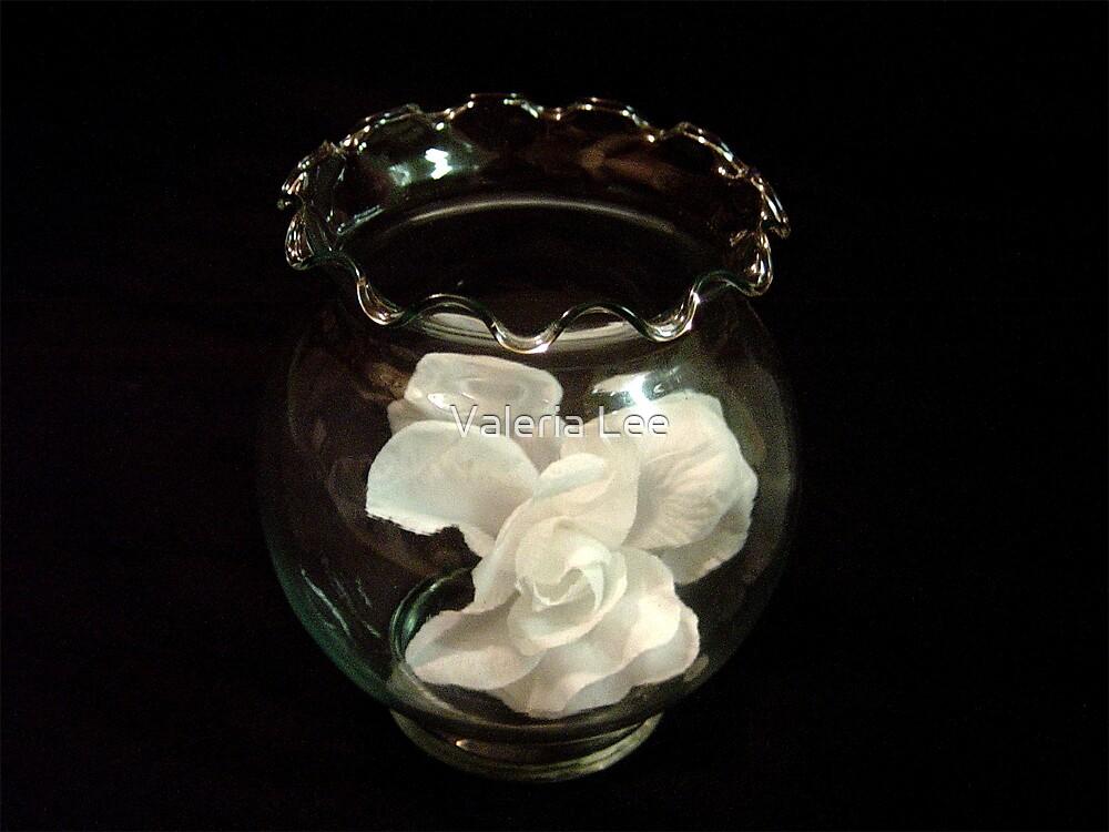 White Petal by Valeria Lee