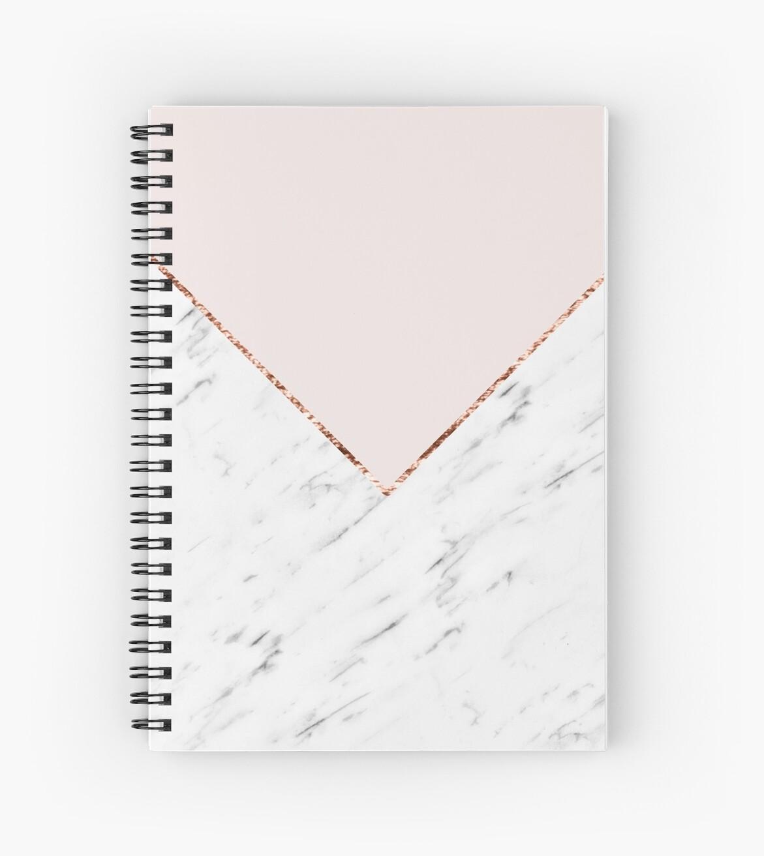 «Peonía ruborizar mármol geométrico» de marbleco
