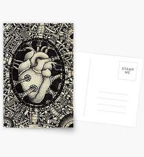 Machine Heart Postcards