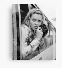 KATE MOSS photo, photographer Canvas Print