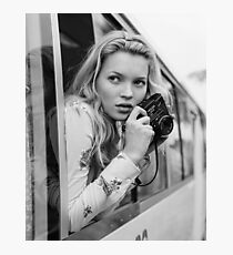 KATE MOSS photo, photographer Photographic Print