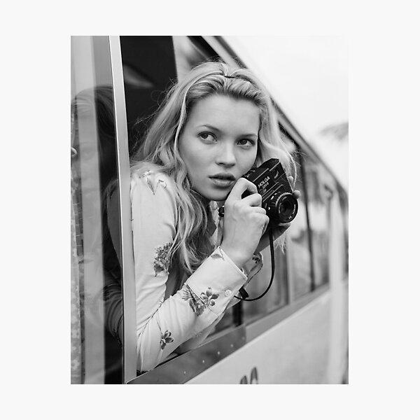KATE MOSS photo, photographer Photographic Print