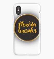 Floridabreaks T Shirts and merch iPhone Case/Skin