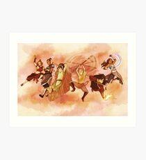 Team Avatar Art Print