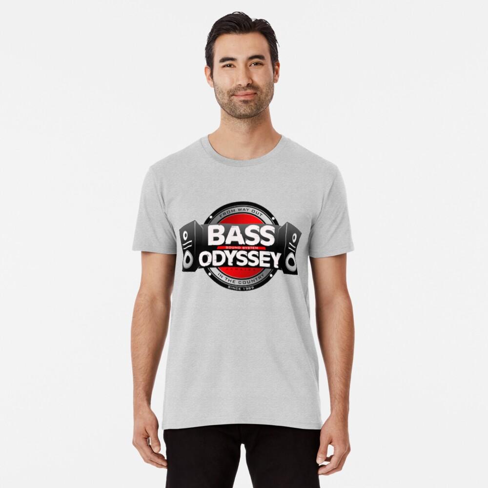 Bass Odyssey Dancehall Reggae Soundsystem aus dem Ausland Premium T-Shirt