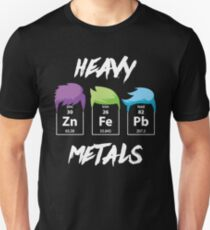Funny Chemistry Science T Shirt-Heavy Metal Gifts for Women Men Chemistry Lovers Unisex T-Shirt