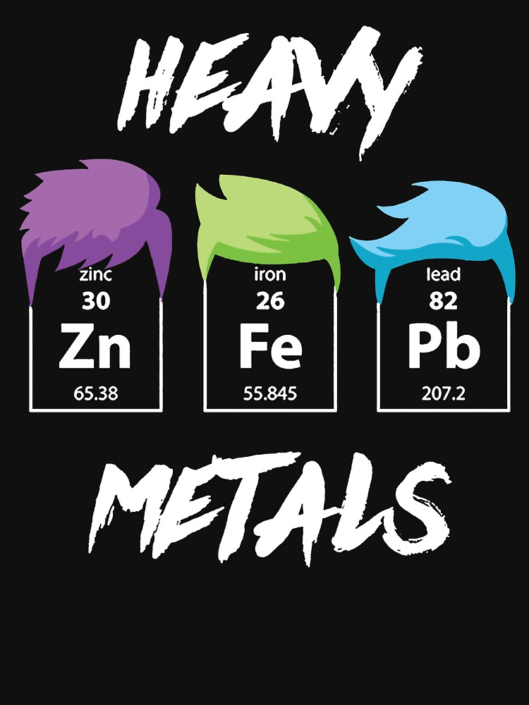 Funny chemistry science t shirt heavy metal gifts for women men funny chemistry science t shirt heavy metal gifts for women men chemistry lovers by anna0908 urtaz Image collections