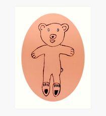 Teddy Bear - Ourson - Martin Boisvert Impression artistique