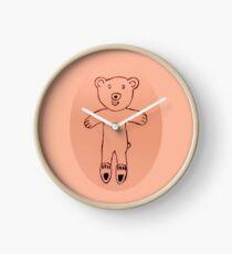 Teddy Bear - Ourson - Martin Boisvert Horloge