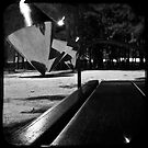 Park Bench by ADMarshall