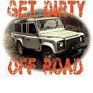 Holen Sie sich Dirty Off Road T-Hoodie von C P  v 2