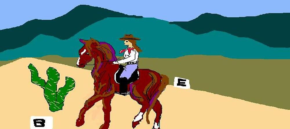 Cowboy Dressage by Carole Boyd