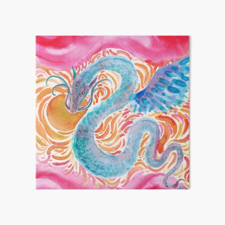 Sky Dragon Art Board Print