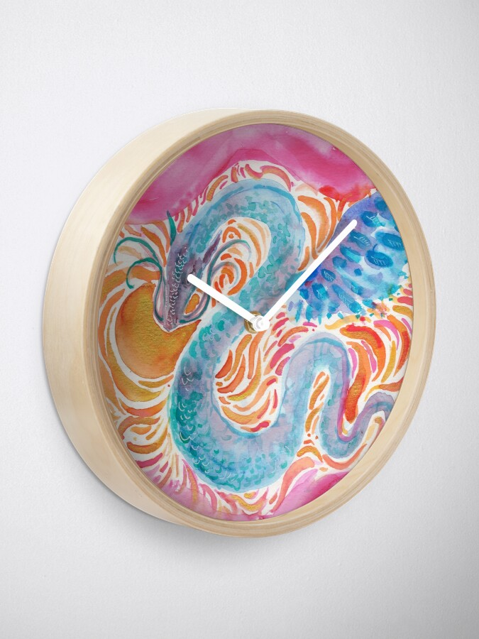 Alternate view of Sky Dragon Clock