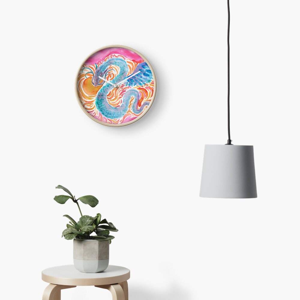 Sky Dragon Clock