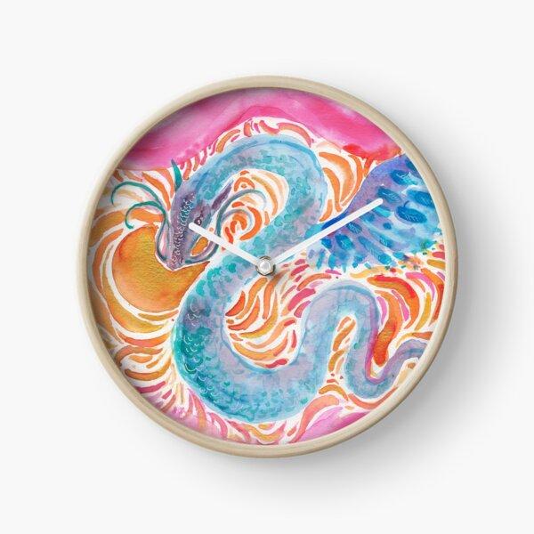 Sky Dragon Clock