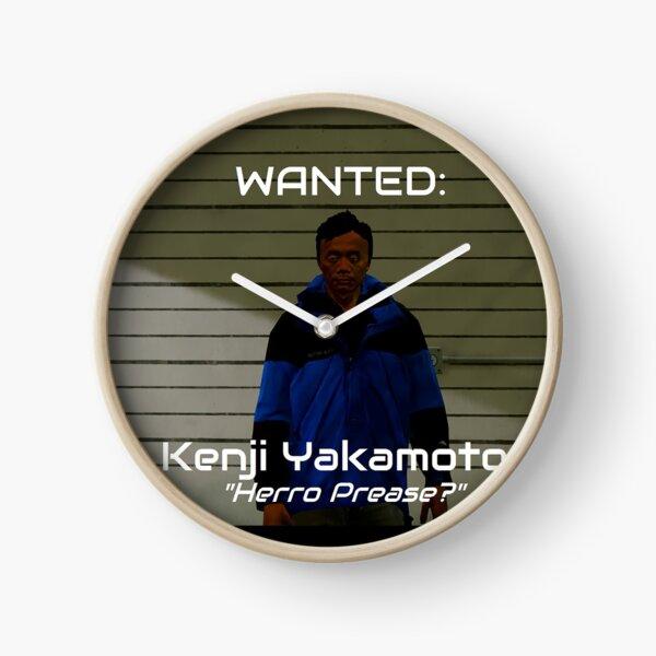 Wanted: Kenji Yakamoto Clock