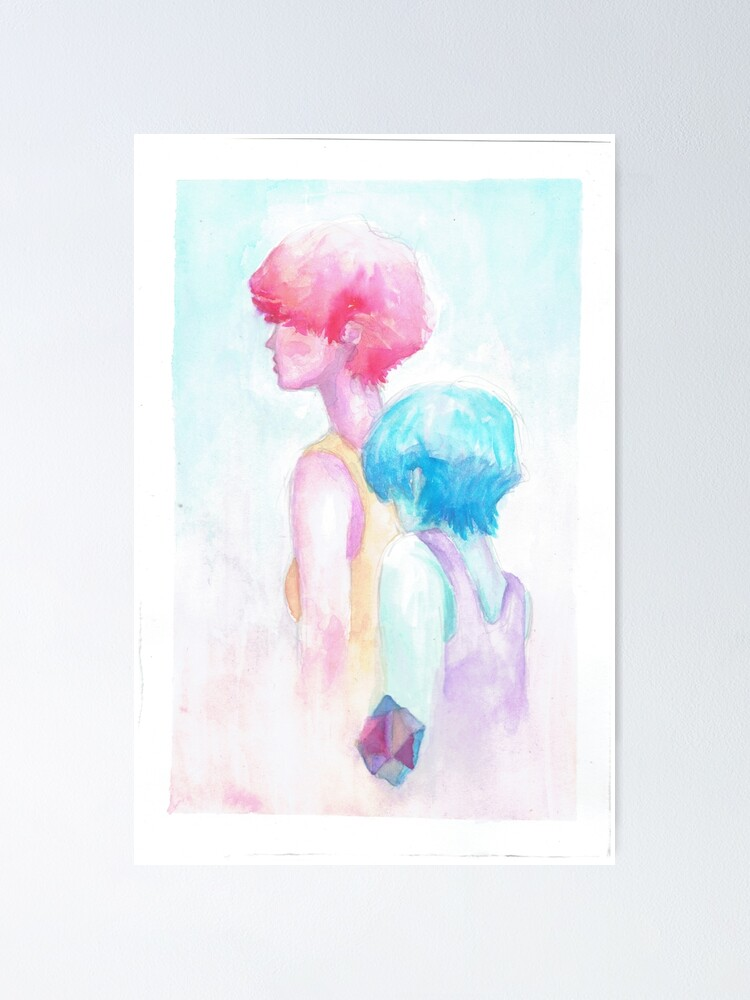 Alternate view of pastel Poster