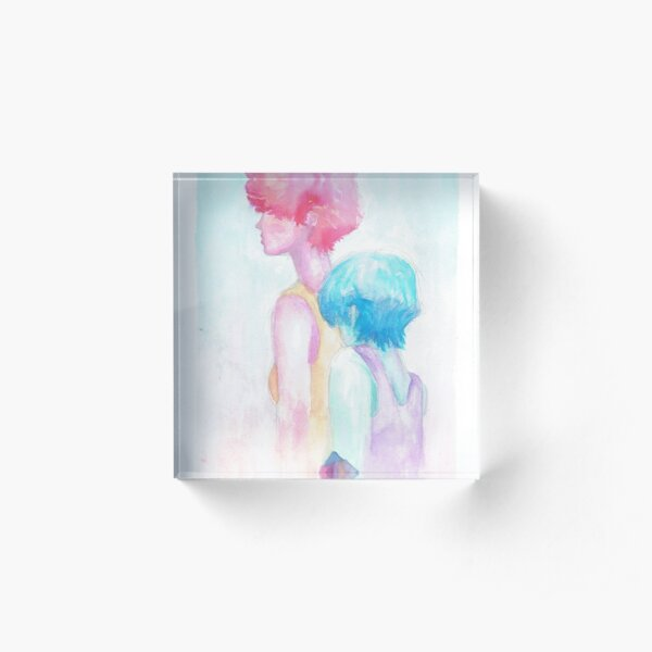 pastel Acrylic Block