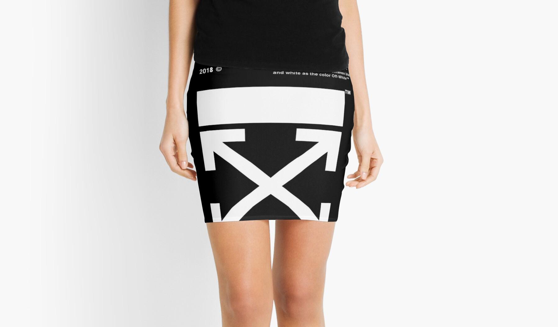 Xxxx Black Mini Skirts By Dotycory Redbubble