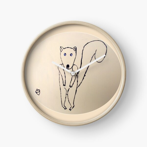 Squirrel - Écureuil - Martin Boisvert Horloge