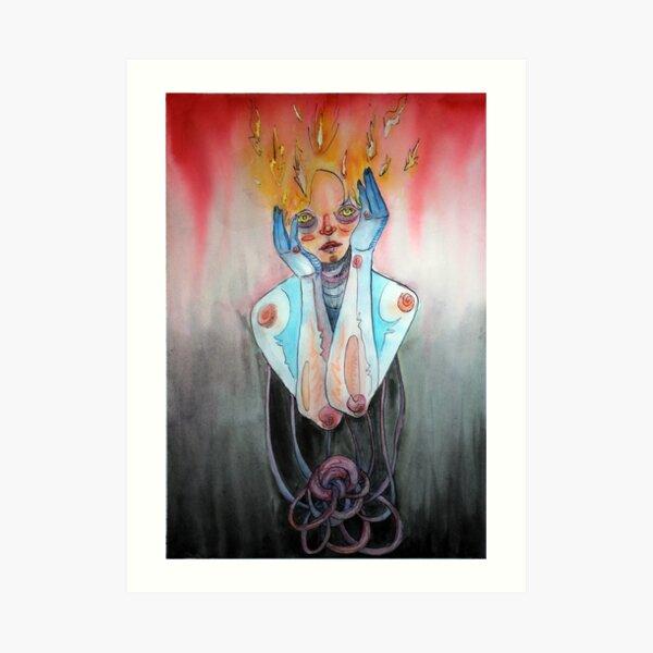 Fire Mind Art Print