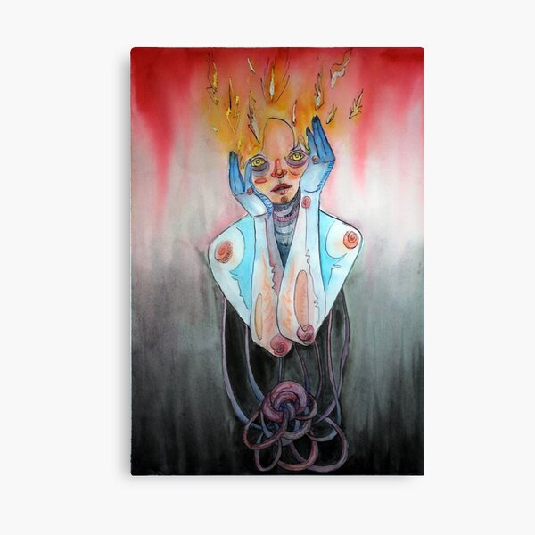 Fire Mind Canvas Print