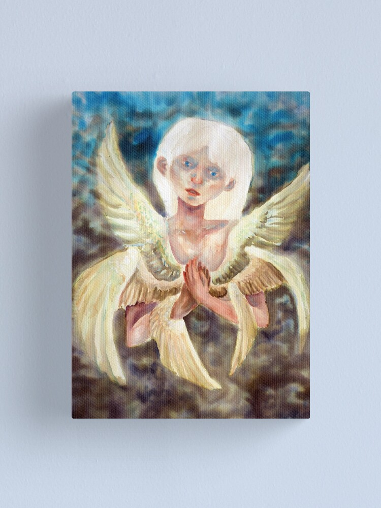 Alternate view of The bird of my heart is trying to get out Canvas Print