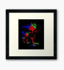 Vector Show Framed Print