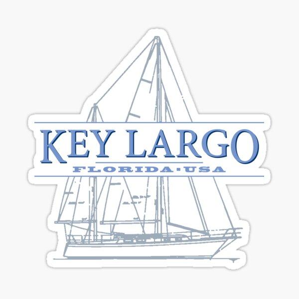 Key Largo Sticker