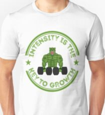 Intensity Is The Key To Growth T-Shirt Unisex T-Shirt