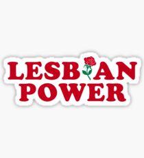 Lesbian Power Sticker