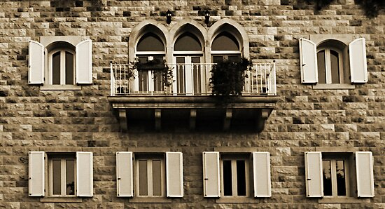Lebanese Façade by Joseph Najm