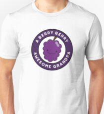 Berry Berry Awesome Grandpa Funny Fruit Pun Unisex T-Shirt