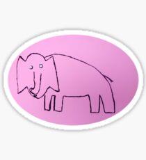 Éléphant - Martin Boisvert Sticker