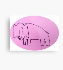 Éléphant - Martin Boisvert Impression métallique