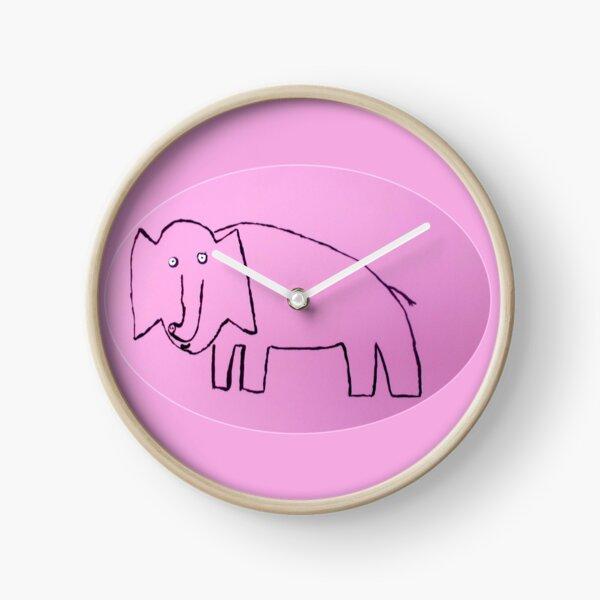 Éléphant - Martin Boisvert Horloge