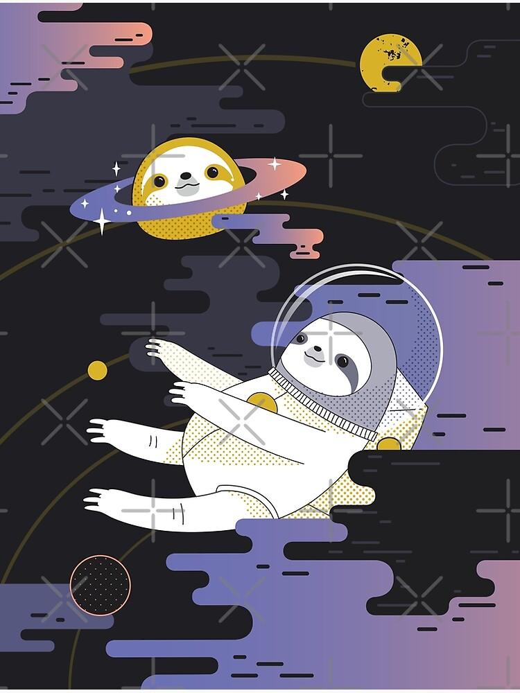 Planet Sloth by Miri-Noristudio