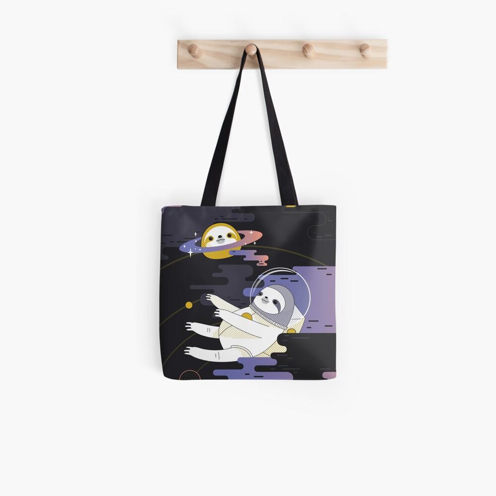 Planet Sloth Tote Bag