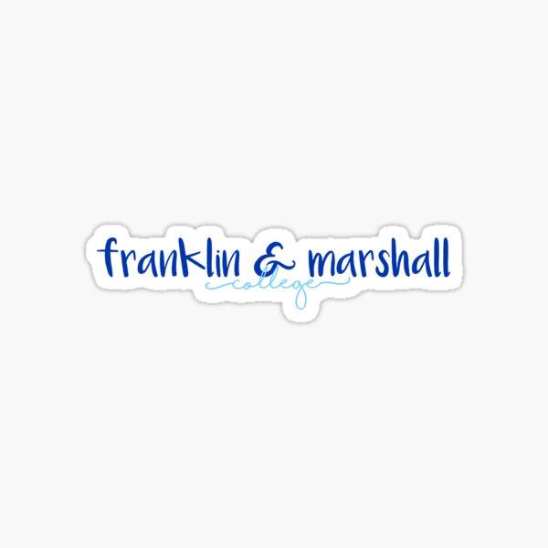 Franklin & Marshall College Sticker