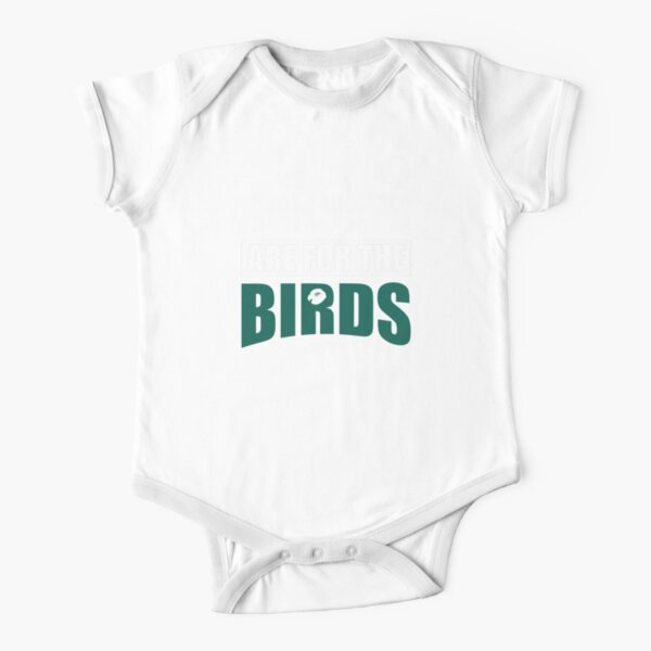 Sundays Are for the birds Short Sleeve Baby One-Piece