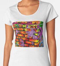 Psychedelic Bricks Women's Premium T-Shirt