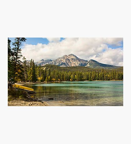 Lake Edith, Jasper Photographic Print